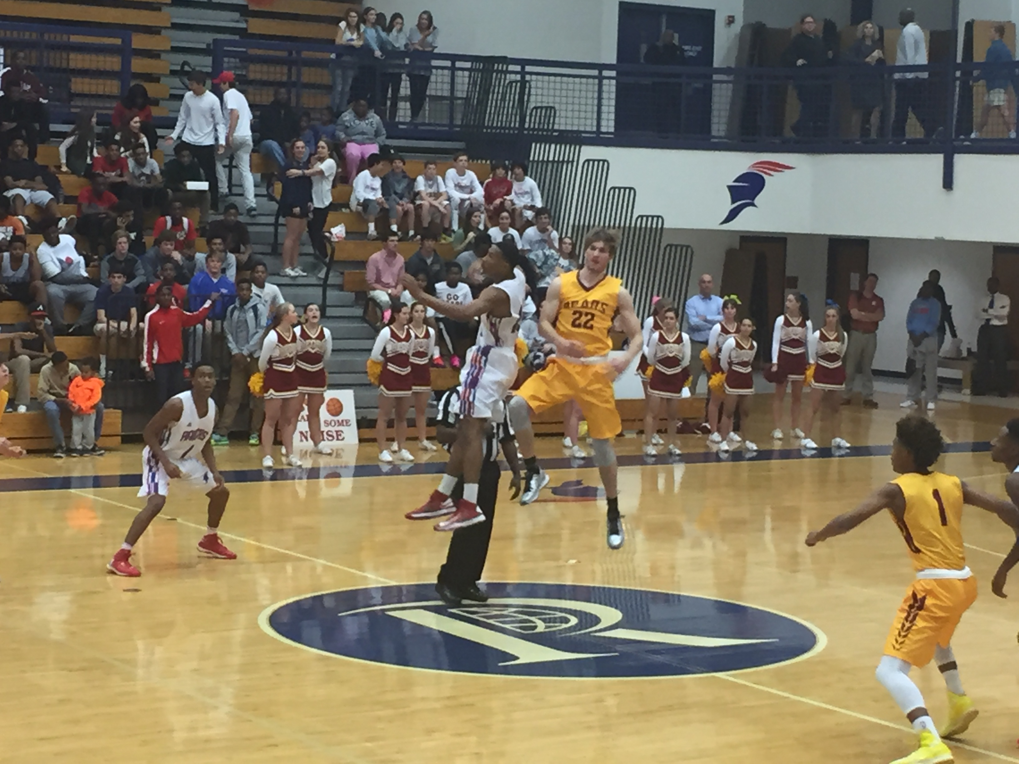 Gaddy and Duncan tip-off the '15-16 season