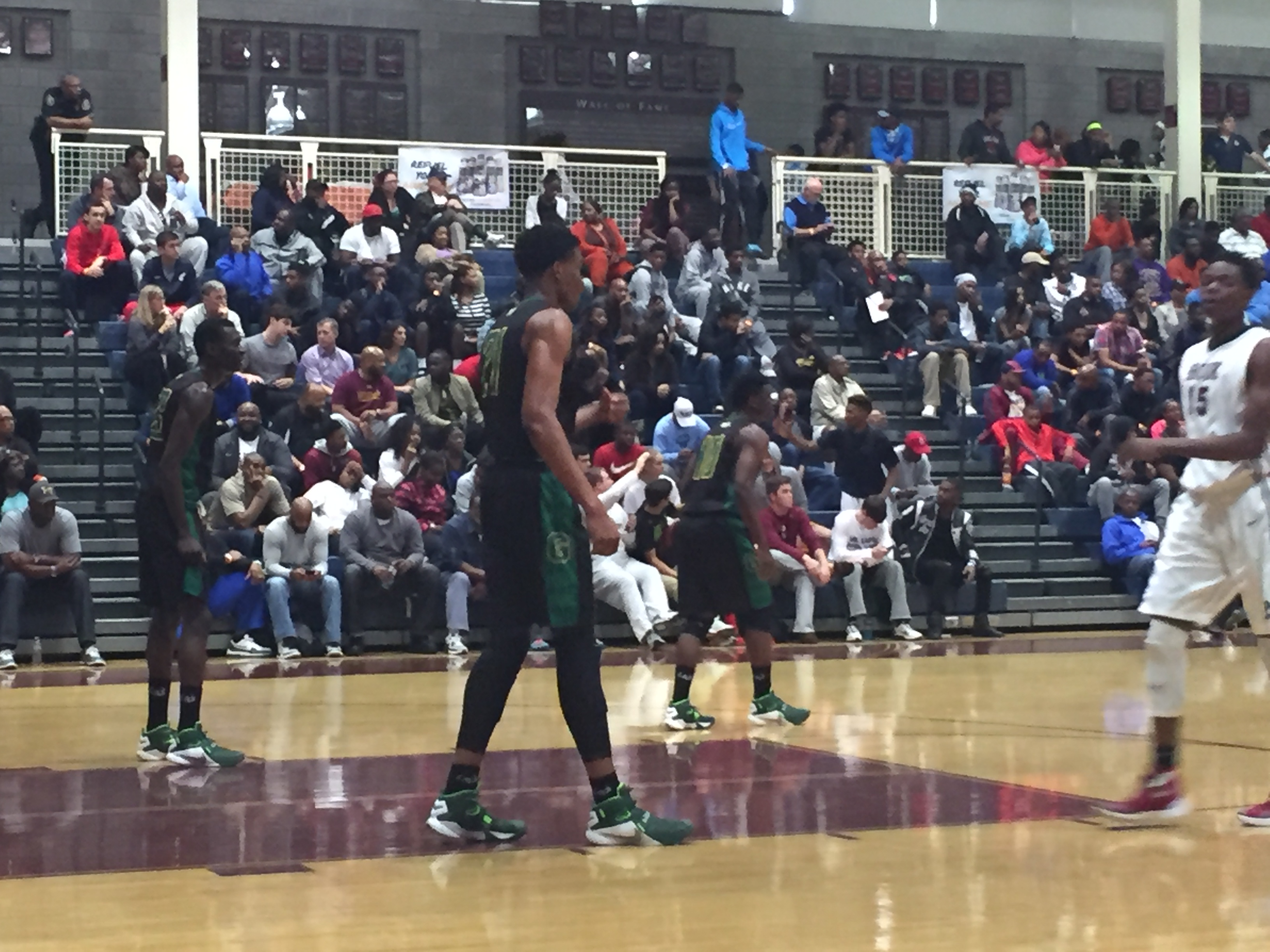 Ikey Obiagu is a big presence in the middle