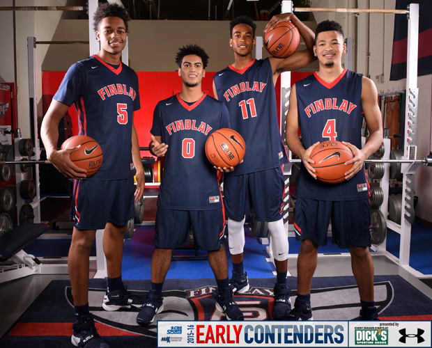 L-R: PJ Washington, Markus Howard, Oshae Brissett, Skylar Mays | Photo by Jann Hendry/MaxPreps