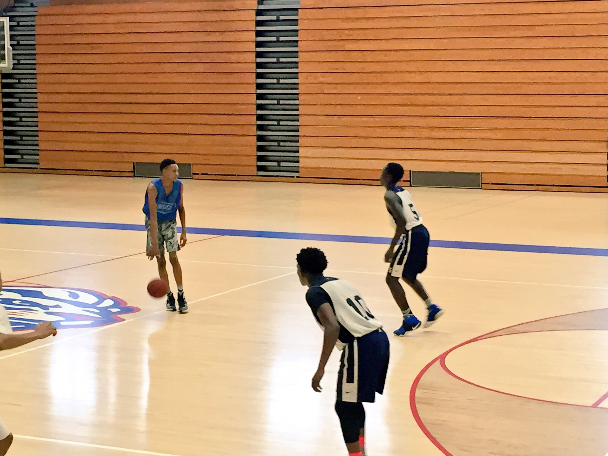 Devin Vassell was in attack mode for Peachtree Ridge