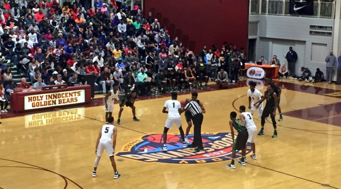 Nationally ranked powers ignite capacity crowd at Holiday Hoopsgiving Day 1 nightcap