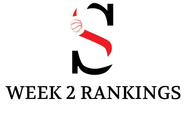 Week 2 Girls Rankings