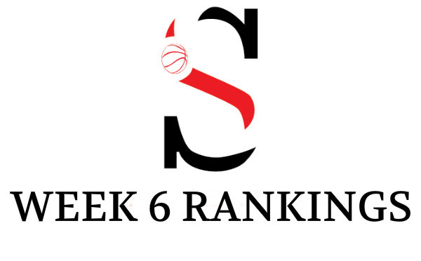 Week 6 Girls Rankings