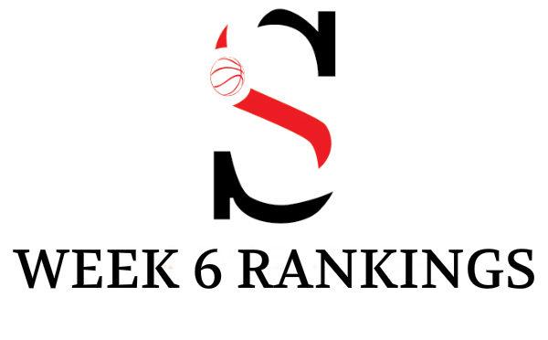 Week 6 Girls Rankings