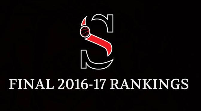Final 2016-17 Girls Rankings