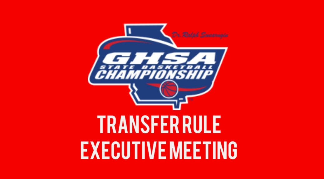 GHSA transfer rule
