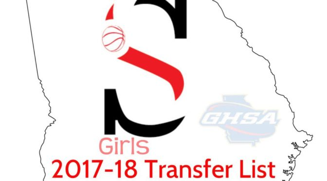 2017-18 GHSA Girls Basketball Transfer List
