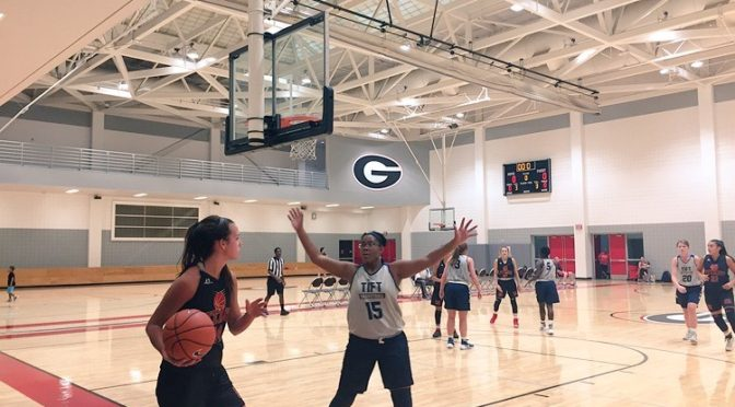 UGA girls team camp Saturday notes
