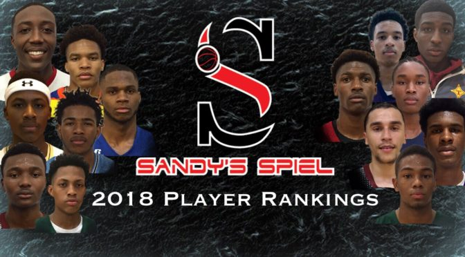 2018 GHSA Player Rankings