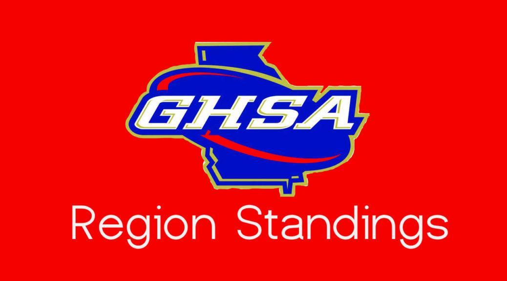 GHSA Region Standings