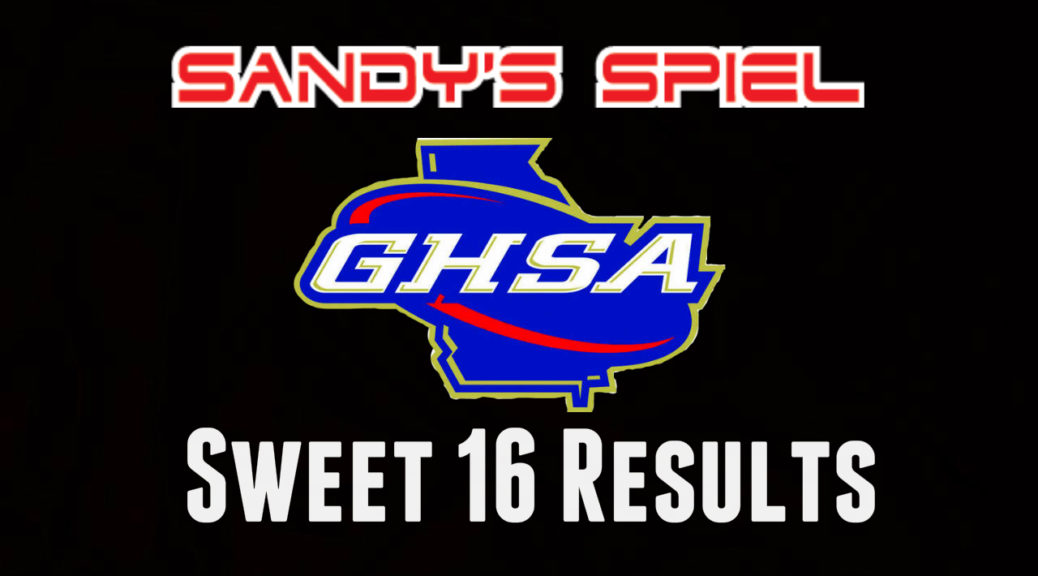 GHSA Boys Basketball Sweet 16