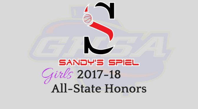 2017-18 GHSA Girls Basketball All-State