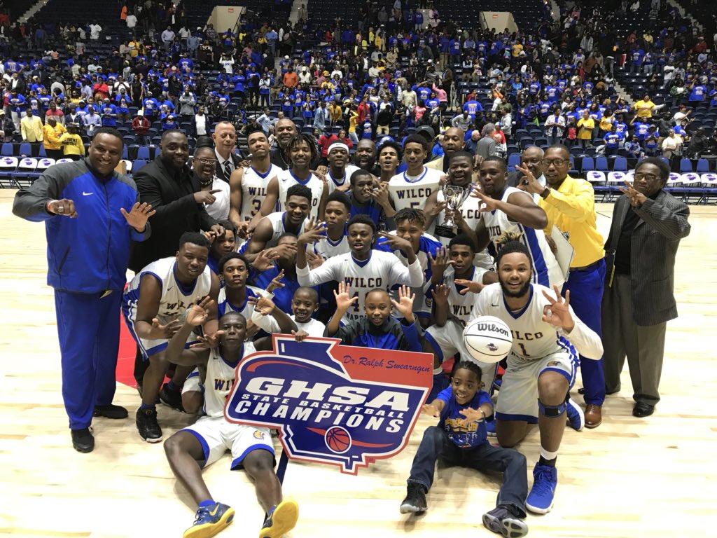 Wilkinson County Warriors basketball