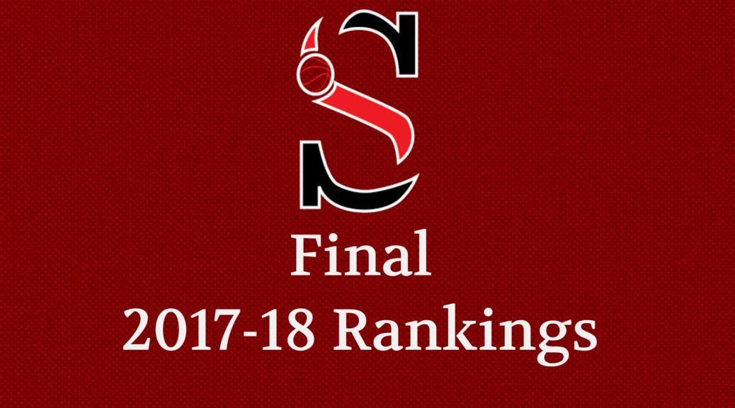 GHSA Boys Basketball State Rankings