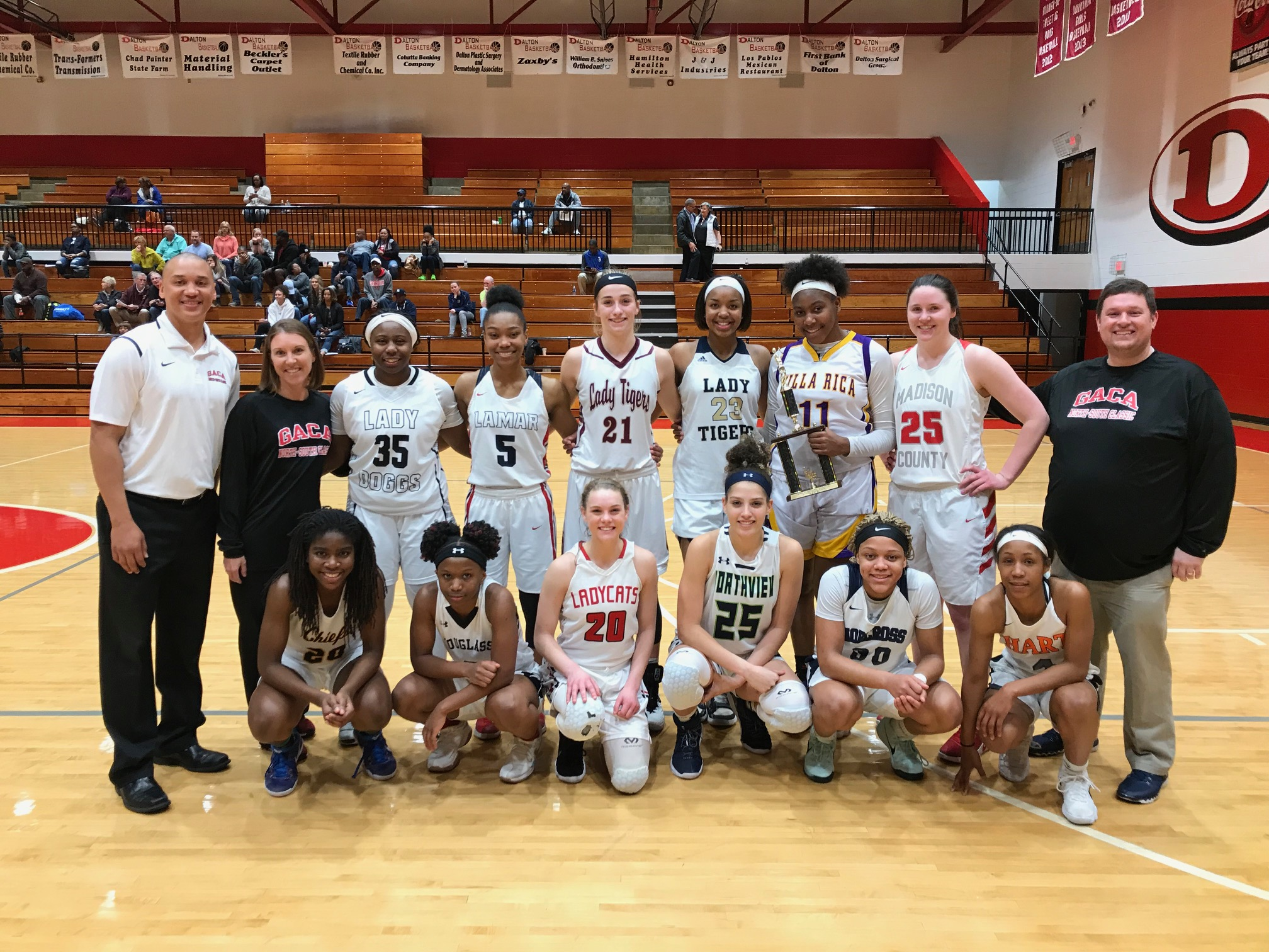 2018 GACA Junior Girls North All-Star Team