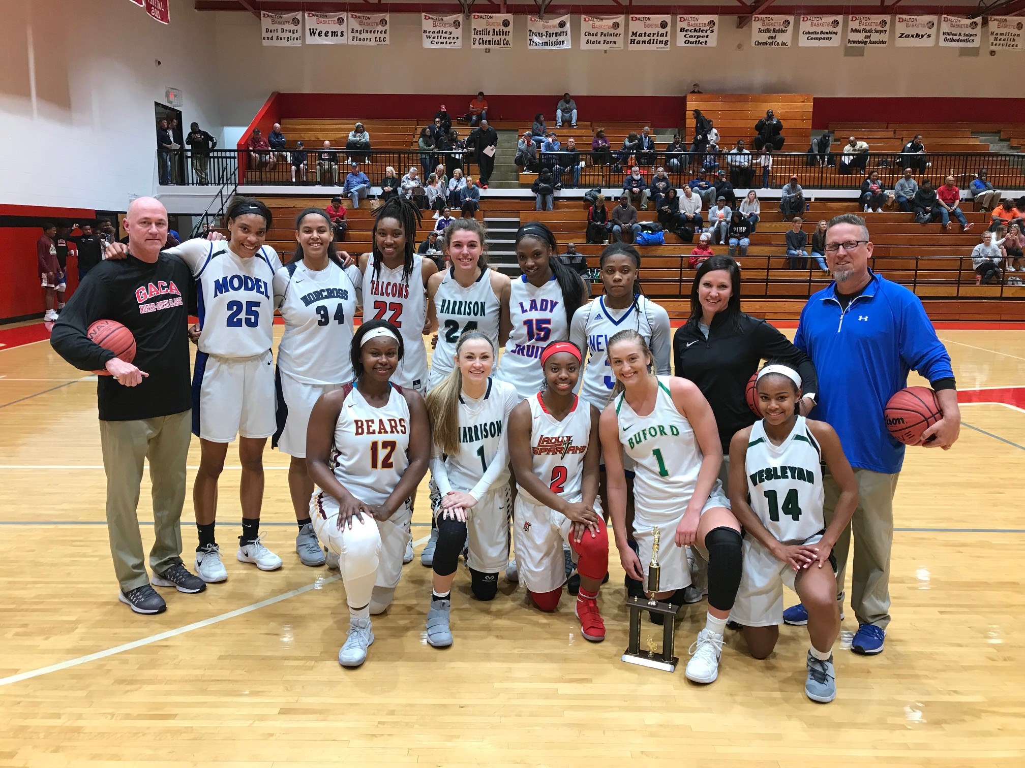 2018 GACA Senior Girls North All-Star Team