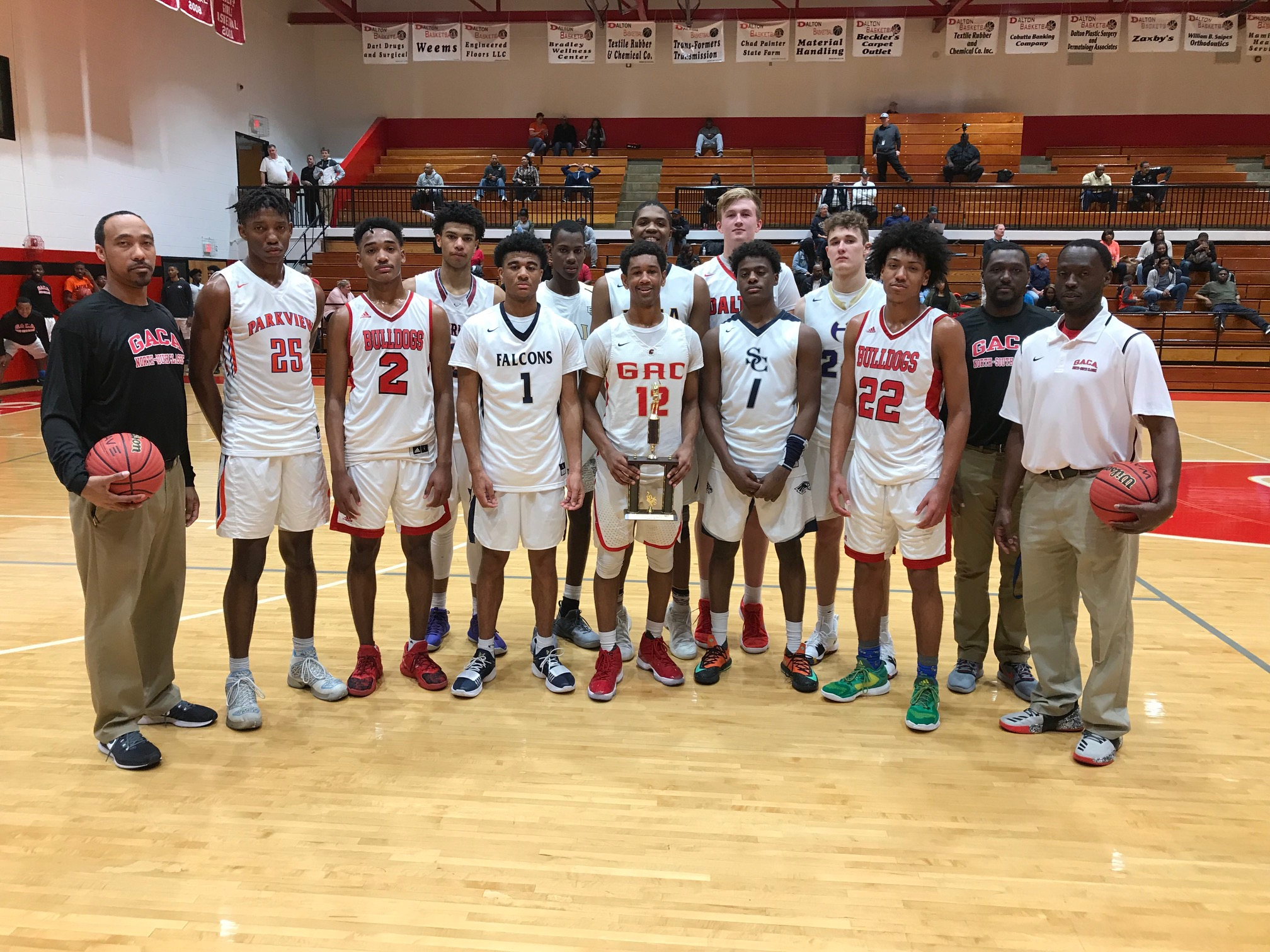 2018 GACA Junior Boys North All-Star Team