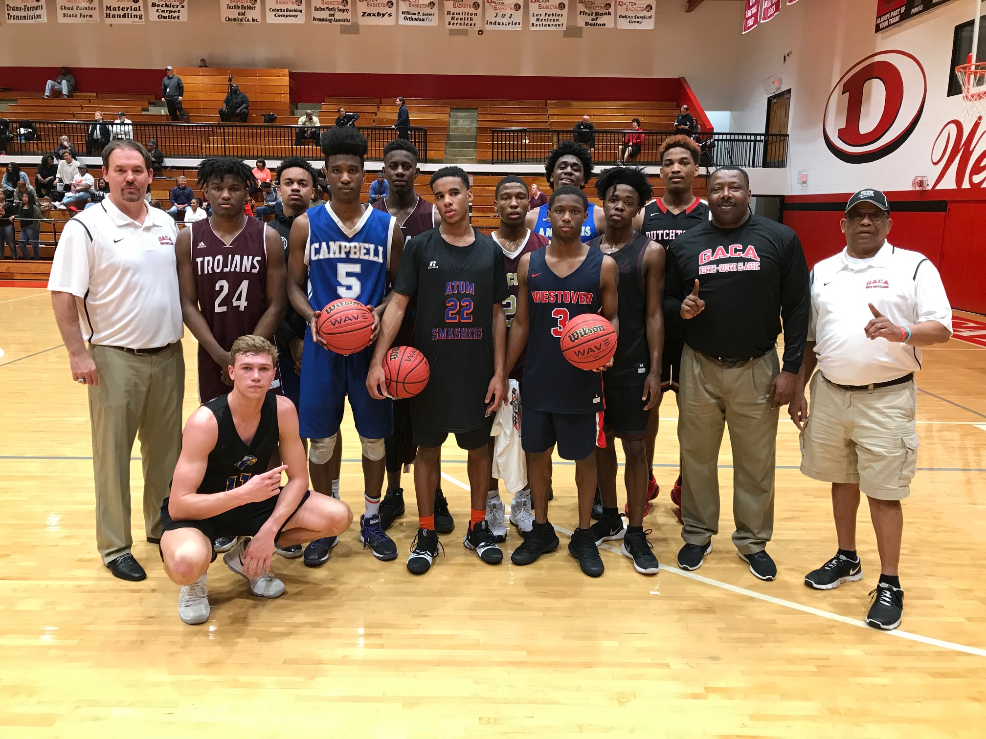 2018 GACA Junior Boys South All-Star Team