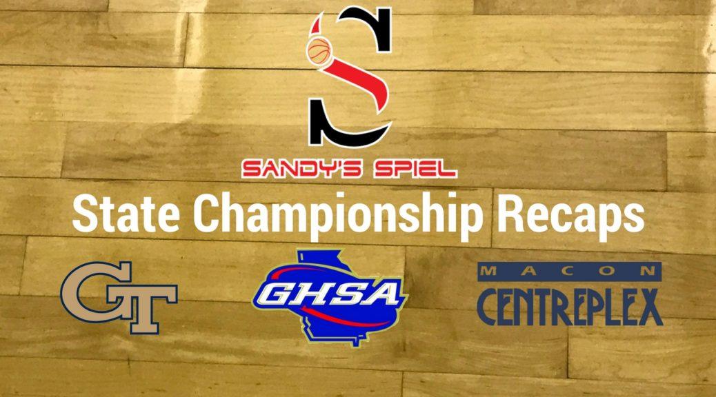 GHSA Basketball State Championship