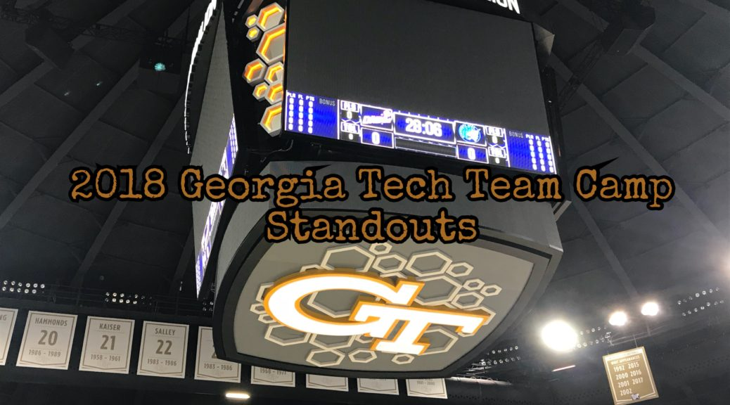 Georgia Tech Team Camp