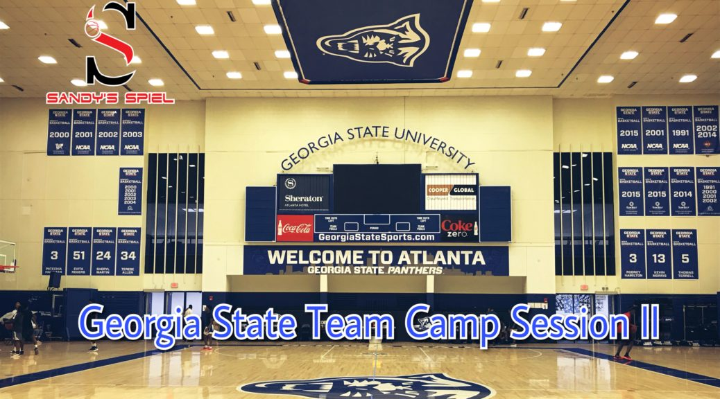 Georgia State Ron Hunter Team Camp Session II