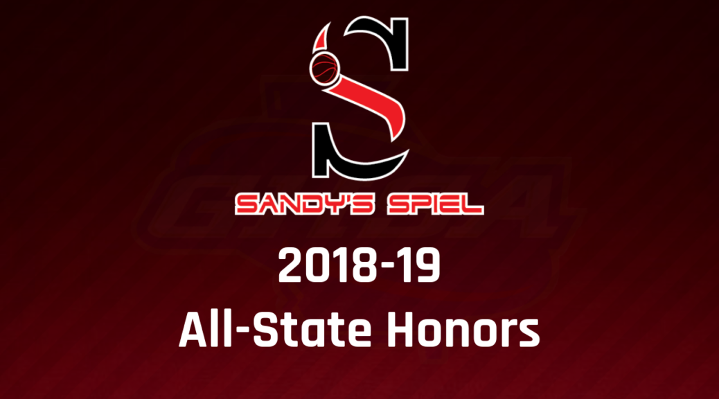 2018-19 GHSA Boys Basketball All-State Teams