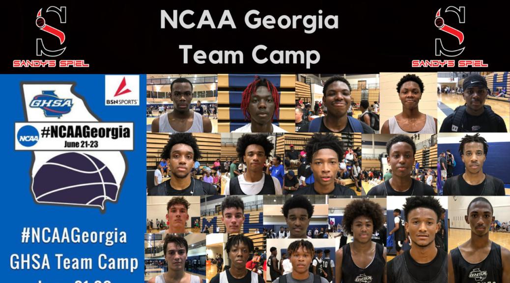 NCAA Georgia Team Camp