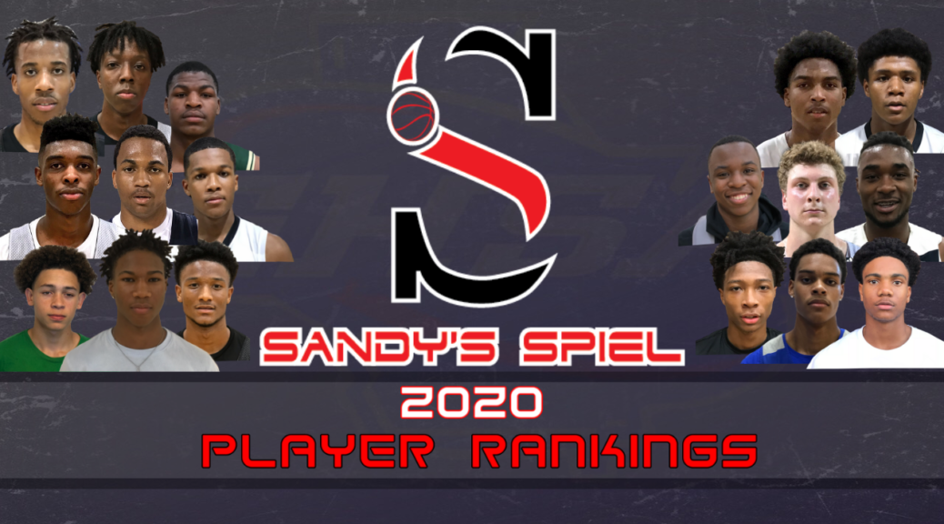2020 GHSA Player Rankings