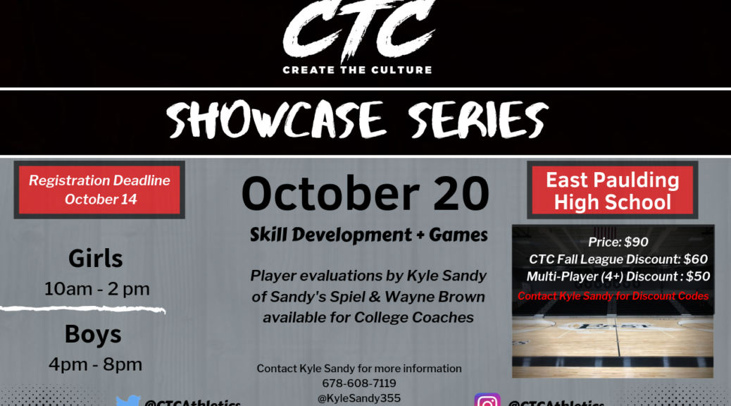 Create The Culture Showcase Series