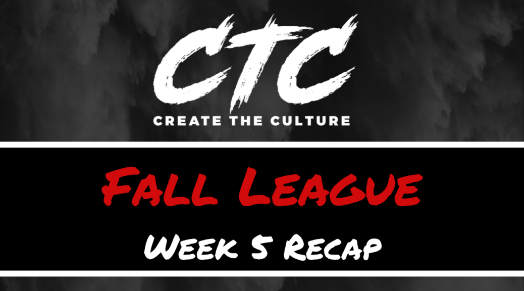 CTC Fall League Recap