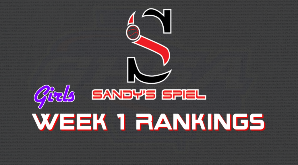 Week 1 GHSA Girls Basketball State Rankings