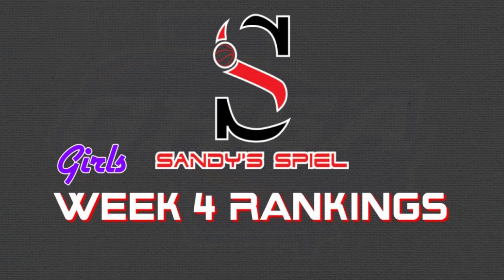Week 4 GHSA Girls Basketball State Rankings
