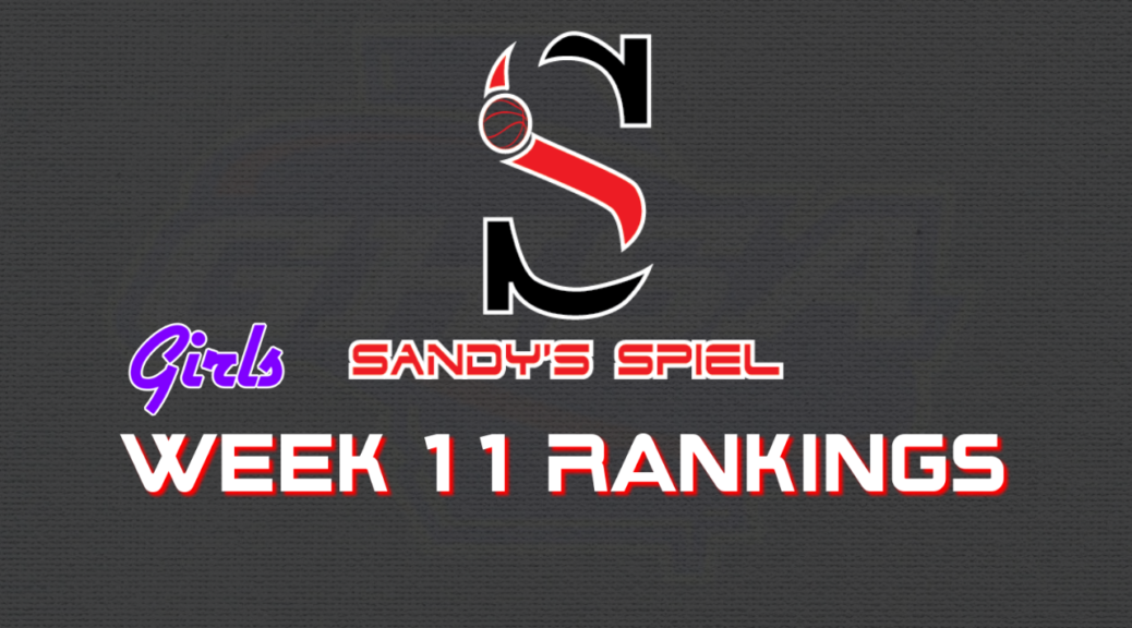 Week 11 GHSA Girls Basketball State Rankings