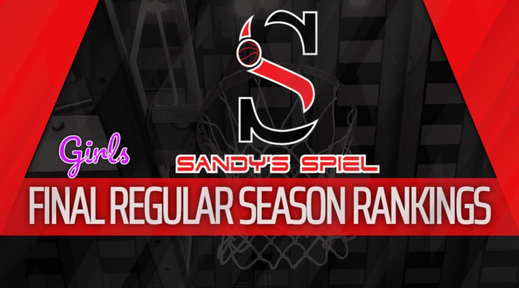 2019-20 GHSA Final Regular Season Girls Basketball State Rankings