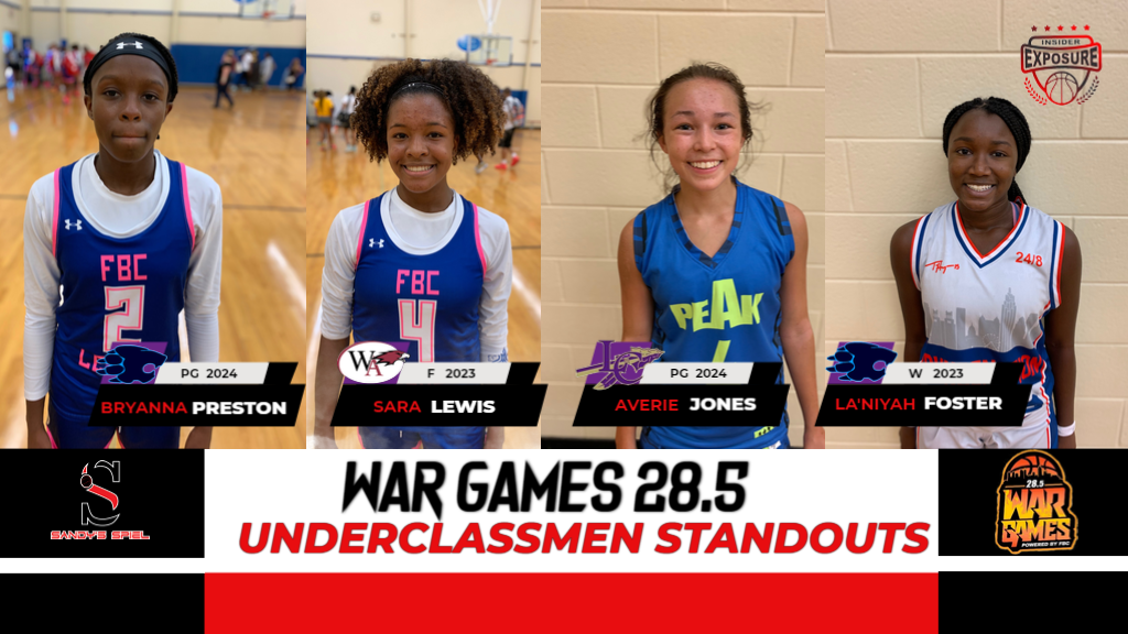 War Games 28.5 Underclassmen Standouts