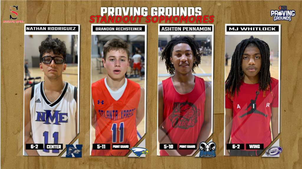 Proving Grounds Sophomore Standouts