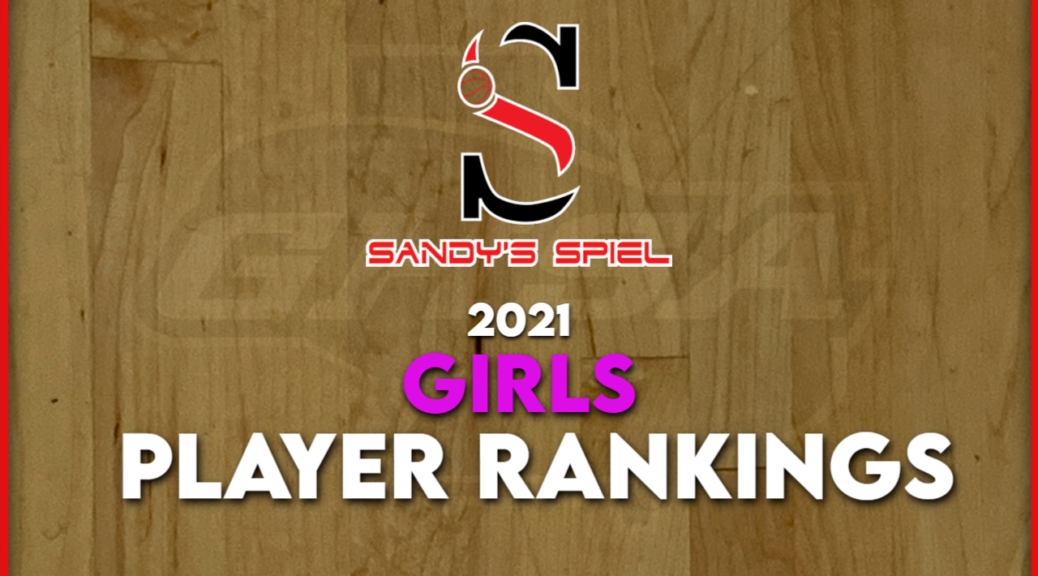 GHSA Girls Player Rankings