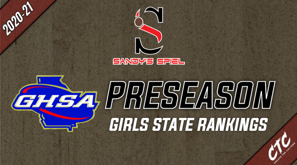 2020-21 Preseason GHSA Girls Basketball State Rankings