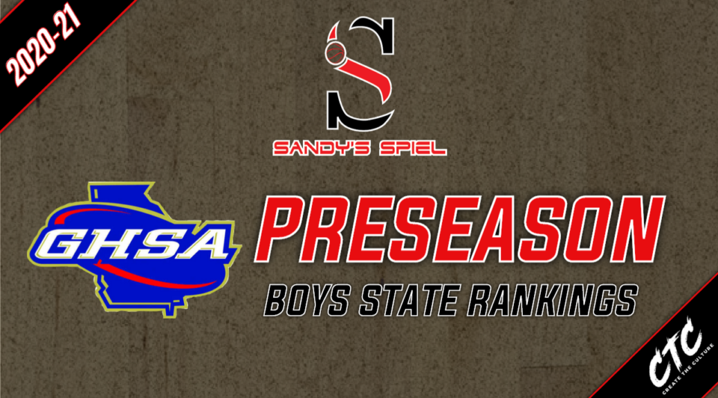 2020-21 GHSA Preseason Boys Basketball State Rankings