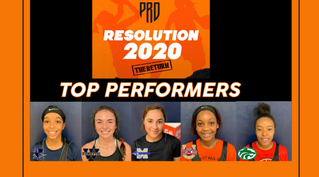 PRO Resolution Girls Top Performers