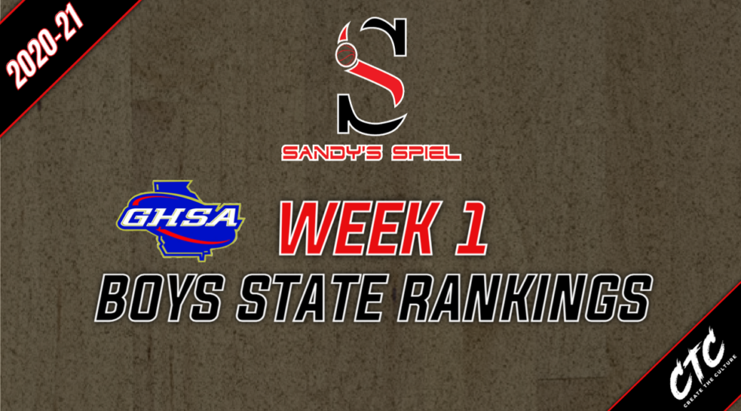Week 1 GHSA Boys Basketball State Rankings