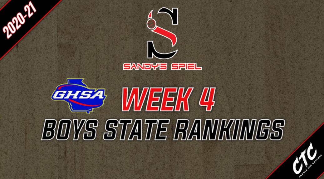 Week 4 GHSA Boys Basketball State Rankings