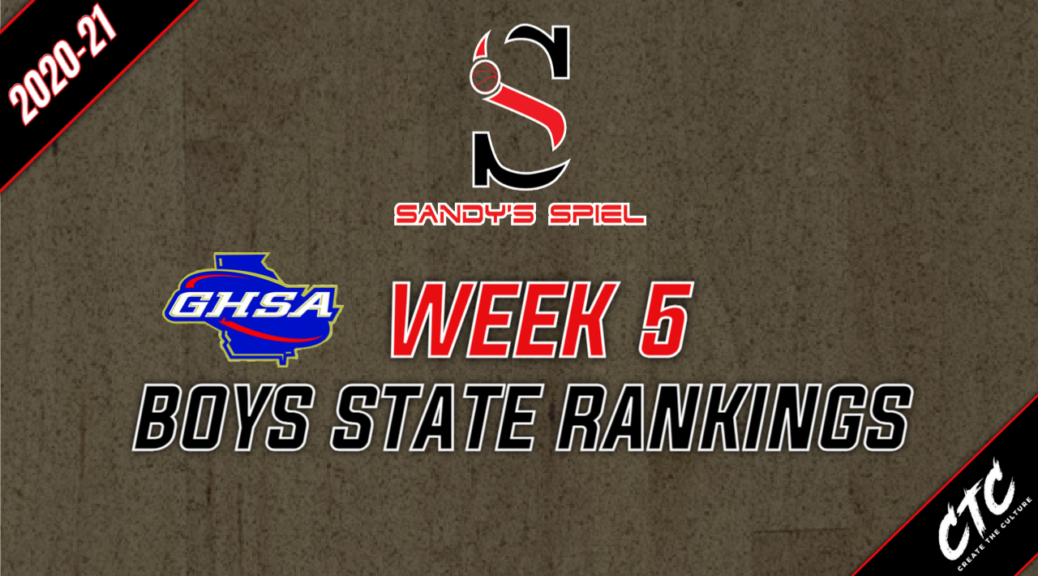 Week 5 GHSA Boys Basketball State Rankings