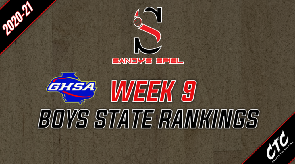 Week 9 GHSA Boys Basketball State Rankings