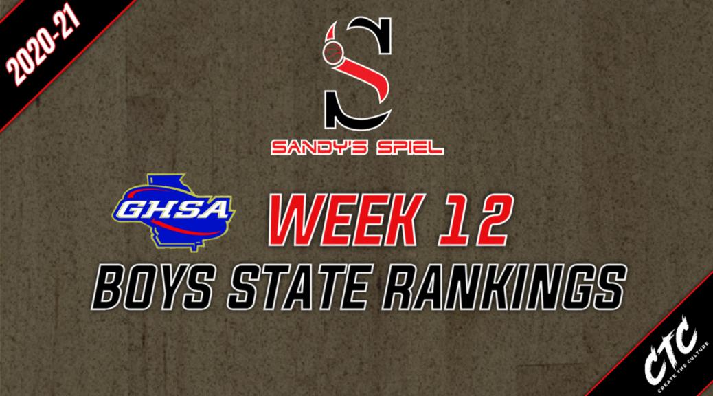 Week 12 GHSA Boys Basketball State Rankings