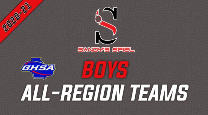 2021 GHSA Boys Basketball All-Region Teams