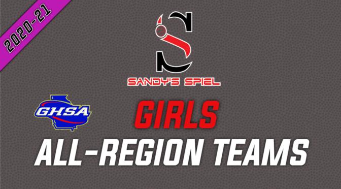2021 GHSA Girls Basketball All-Region Teams