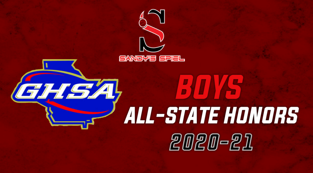 2020-21 GHSA Boys Basketball All-State Honors