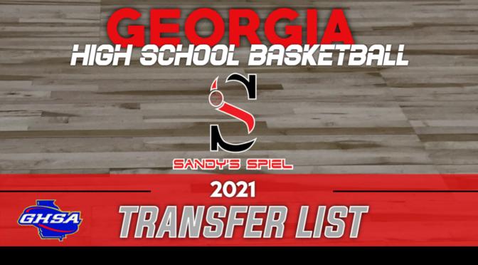 GHSA High School Basketball Transfer List