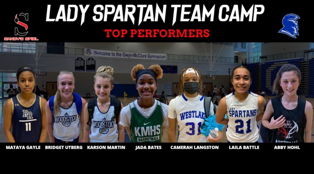 Lady Spartan Team Camp
